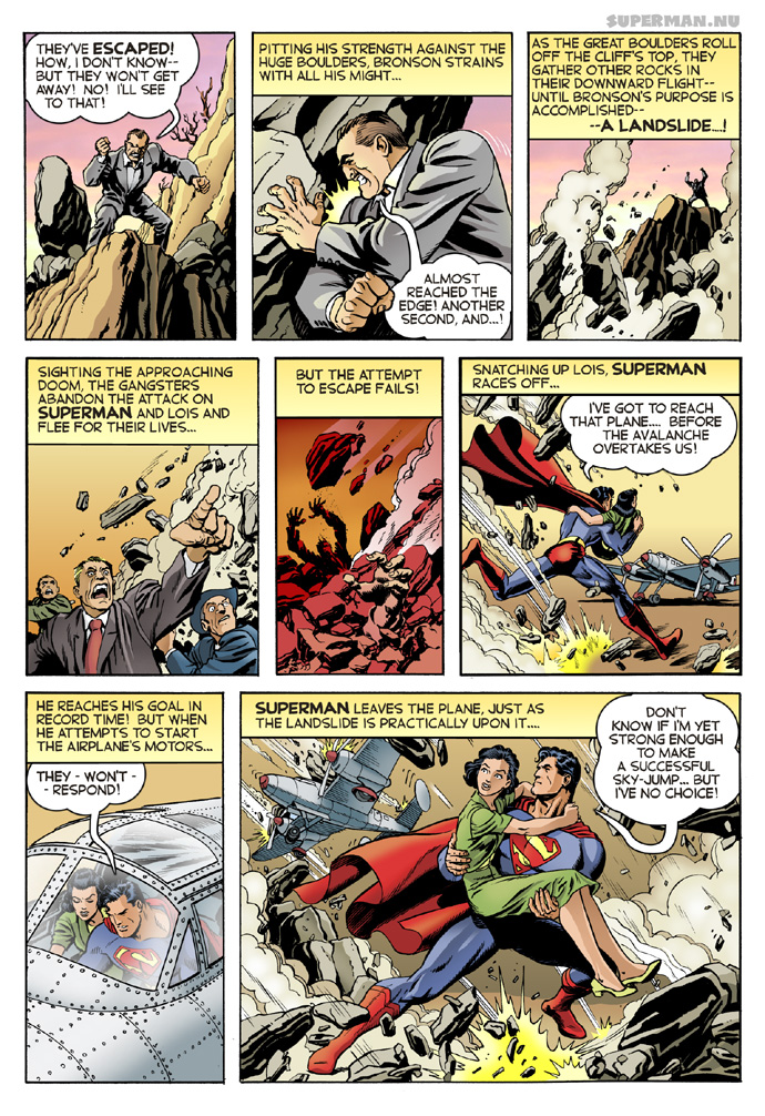 K-Metal from Krypton - Page 22: Landslide! [Bogdanove]